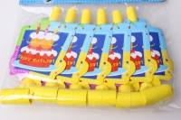 Гудок-язык Happy-birthday (6шт в уп) 4564