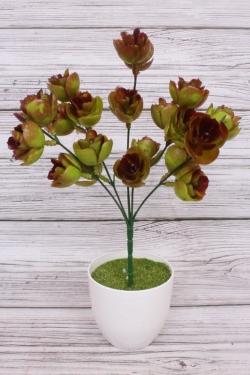 Искусственное растение - Хмель коричневый 25см
