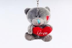 Игрушка для букета (АС) - Мишка Тедди с Сердцем