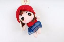 Игрушка для букета (Г) - Кукла красная  Арт. 666-34