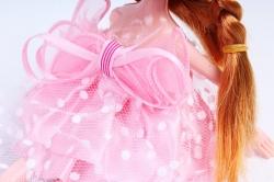 Игрушка для букета (Г) - Куклы-5, Розовая 17*5см, арт.55S-2-2