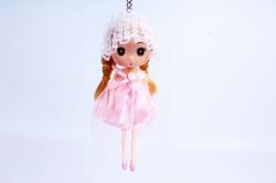 Игрушка для букета (Г) - Куклы-6, Светло розовая с фатой 17*5см, арт.55S-2-3