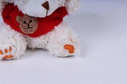 Игрушка для букета (Г) - Мишка лохматый 11см шампань , арт. АС183