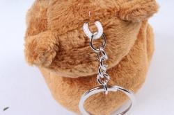 Игрушка для букета (Г) - Мишки-43, коричневый брелок  , арт. 867-3