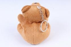 Игрушка для букета (Г) - Мишки-11, коричневый брелок   арт. 111