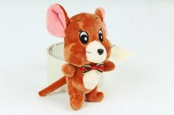 Игрушка для букета (Г) - Мышь Джерри коричневая 13см  Арт.666-12