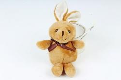 Игрушка для букета (Г) - Заяц коричневый 11/19см  Арт.666-3
