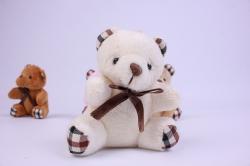 игрушка для букета - медведь микс (4 шт в уп) т23