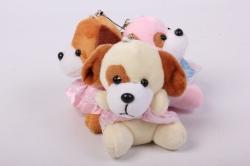 игрушка для букета- собачка (3 шт в уп) о/24