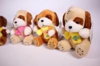 игрушка для букета - собачка с шарфом на присоске (в асс.) h=10см (1шт) 15021/9
