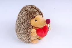Игрушка мягкая - Ежик круглый с сердцем 906/25