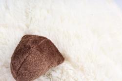 Игрушка мягкая - (Г) Корова Круглая 35*30см (Зоопарк-7), арт.20202