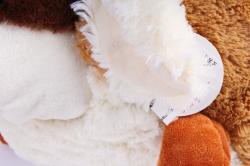 Игрушка мягкая - (Г) Собака Круглая 35*30см (Зоопарк-7), арт.20202