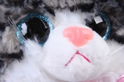 Игрушка мягкая - Кошка полосатая    ЗОО М-3031/20