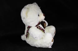 Игрушка мягкая - Медведь с сердечком  М-3078/35