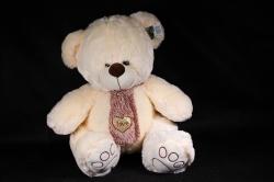 Игрушка мягкая - Медведь с шарфом  АГ-4369/50