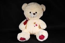 Игрушка мягкая - Медведь шампань  М-2955/40