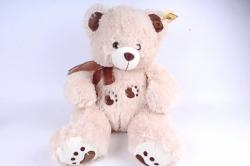 Игрушка мягкая - Медведь  бежевый 9075/45