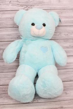 Игрушка мягкая - Мишка 50см голубой  20460-50