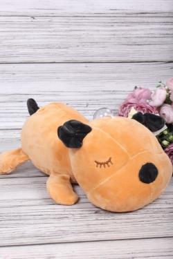 Игрушка мягкая - Собака спит 25см