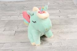 Игрушка мягкая (АС) - Единорог  мятный