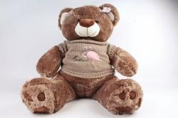 Игрушка мягкая (АС) - Мишка большой в кофте коричневый