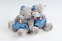 Игрушка мягкая (АС) - Мишка Тедди 15см девочка