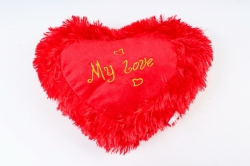 Игрушка мягкая (АС) - Сердце большое красное