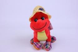 игрушка мягкая дракон красный