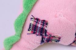 игрушка мягкая дракон розовый