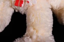 Игрушка мягкая (Г) - Заяц Лавлик-2 шампань 16*30см, арт.1514-30