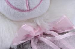игрушка мягкая - кошка 3 цвета м-2175/25/1 серая