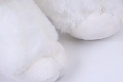 игрушка мягкая кошка с серым пятном м-3026/30