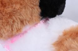 игрушка мягкая кошка трёхцветная м-3026/30