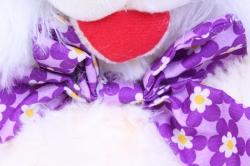 игрушка мягкая кролик 30см   зоо 3-зверя  аг-4198/30