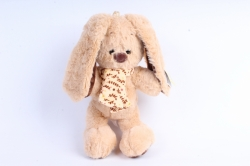 Игрушка мягкая Кролик новый шарфик  Д-3330/19