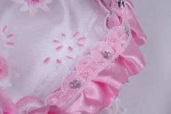 игрушка мягкая- кукла розовая м-1720 h=22cm(сидя)