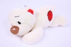 игрушка мягкая лежачий медведь