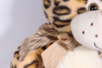 игрушка мягкая леопард с большими лапами  32см  1528/32
