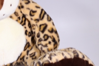 игрушка мягкая леопард с большими лапами  50см  1529/50