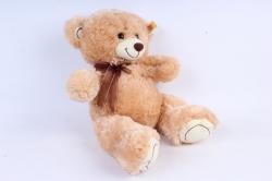 Игрушка мягкая Медведь 3 цвета бежевый     М-3715/38см