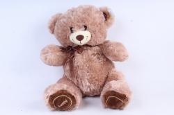 Игрушка мягкая Медведь 3 цвета какао     М-3715/38см