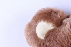 игрушка мягкая медведь бежевый с медалью 48см  м-1818/48/1