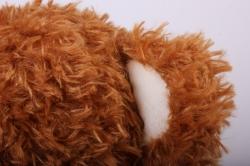 игрушка мягкая медведь коричневый м-3311/38 h=38cm