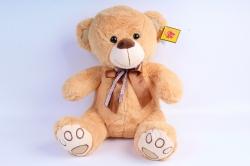 Игрушка мягкая Медведь рыжий   М-4601/40