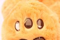 игрушка мягкая медведь рыжий с заплаткой 48см  1104/48