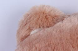 игрушка мягкая - медведь с бантом бежевый м-1064/48