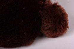 игрушка мягкая медведь с бантом коричневый аг-1652/50  h=50cm
