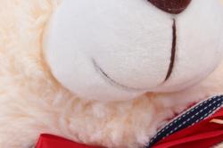 игрушка мягкая - медведь с бантом м-4236/40