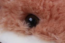 игрушка мягкая- медведь с бантом рыжий  48см   м-1066/48